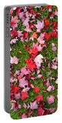 Leafs On Grass Portable Battery Charger
