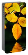 Leafs Over Water Portable Battery Charger