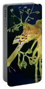 Leafy Sea Dragon Portable Battery Charger by Mariola Bitner