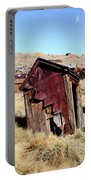 Leaning Bodie Outhouse Portable Battery Charger
