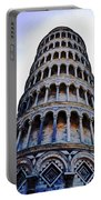 Leaning Tower Of Pisa In Tuscany, Italy Portable Battery Charger