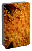 Leather Coral Portable Battery Charger