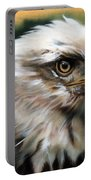 Leather Eagle Portable Battery Charger