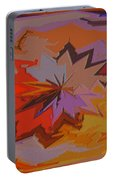 Leaves Abstract - Autumn Motif Portable Battery Charger
