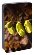 Leaves All In A Row Portable Battery Charger
