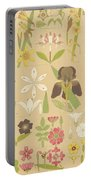 Leaves And Flowers From Nature Portable Battery Charger