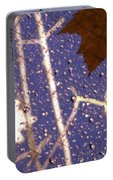 Leaves And Rain 2 Portable Battery Charger