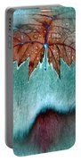 Leaves And Rain 6 Portable Battery Charger
