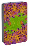 Leaves In Fractal 2 Portable Battery Charger