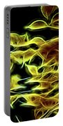 Leaves Of Fire Portable Battery Charger