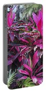 Leaves Of Pink Portable Battery Charger
