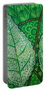 Leaves Of Spring Portable Battery Charger