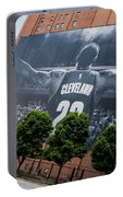 Lebron James Banner Portable Battery Charger