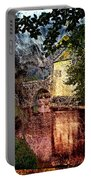Leeds Castle Gatehouse And Moat Portable Battery Charger