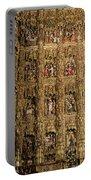 Left Half - The Golden Retablo Mayor - Cathedral Of Seville - Seville Spain Portable Battery Charger