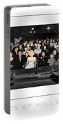 Legends Of Hollywood Poster Portable Battery Charger