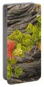 Lehua Flower Portable Battery Charger
