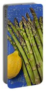 Lemon And Asparagus  Portable Battery Charger