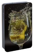 Lemon Spash Portable Battery Charger