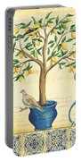 Lemon Tree Of Life Portable Battery Charger by Debbie DeWitt