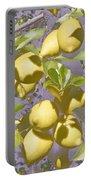 Lemons Purple Pastel Portable Battery Charger