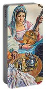L.endres Maroc Painting Portable Battery Charger