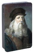 Leonardo Da Vinci - To License For Professional Use Visit Granger.com Portable Battery Charger