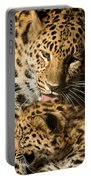 Leopard Cub Love Portable Battery Charger
