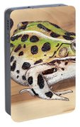 Leopard Frog No 1 Portable Battery Charger