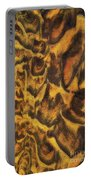 Leopard In The Sand Portable Battery Charger