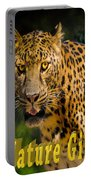 Leopard Nature Girl Portable Battery Charger