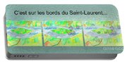C'est Sur Les Bords Du Saint-laurent Mug Shot Portable Battery Charger
