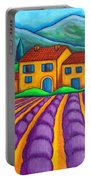 Les Couleurs De Provence Portable Battery Charger
