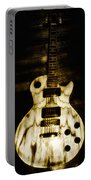 Les Paul Guitar Portable Battery Charger by Bill Cannon