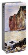 Les Petites Dalles Portable Battery Charger by Claude Monet