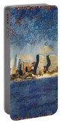 Less Wacky Philly Skyline Portable Battery Charger