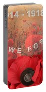 Lest We Forget - 1914-1918 Portable Battery Charger