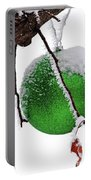 Let It Snow Christmas Ornament Portable Battery Charger