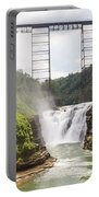 Letchworth Upper Falls Portable Battery Charger by Michael Chatt