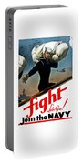 Let's Go Join The Navy Portable Battery Charger