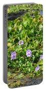 Lettuce Lake Flowers Portable Battery Charger