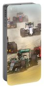 Lewis Hamilton Leads The Pack Portable Battery Charger