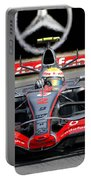 Lewis Hamilton, Mclaren- Mercedes Mp4-22 Portable Battery Charger