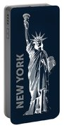 Liberty, New York, Popart Portable Battery Charger