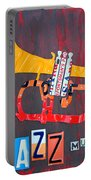 License Plate Art Jazz Series Number One Trumpet Portable Battery Charger