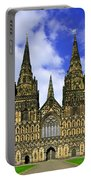 Lichfield Cathedral - The West Front Portable Battery Charger