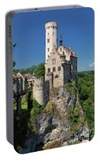 Lichtenstein Castle Portable Battery Charger by Yair Karelic