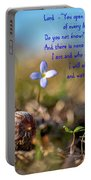 Life Delicate And Strong Portable Battery Charger