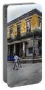 Life In Old Town Havana Portable Battery Charger