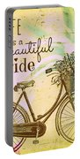 Life Is A Beautiful Ride Portable Battery Charger